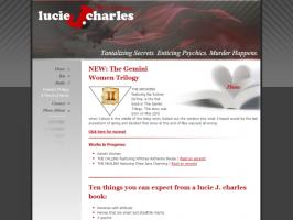 Website - Lucie J. charles
